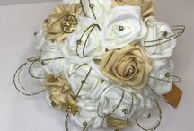 Bridal Party Wedding Flowers / We offer a professional Bridal party flowers from hand ties to buttonholes.  You can make an appointment with one of our designers to discuss your wedding flower requirement and also show you colours and designs and what is on trend for the year.