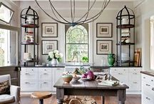 Industrial/modern/rustic living spaces/décor
