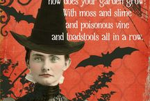 Halloween / All things creepy crawly and Halloween-y!