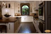 Spirited Contrast - Showplace Cabinets / Chesapeake Inset Door Style