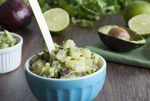 Salads, Dips and Salsas