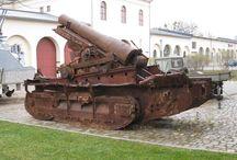 mortar . howitzer . kanon