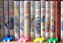 Collections of Enid Blyton books we want to own / Pretty books we drool over