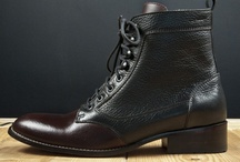Fine leather shoes