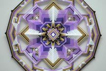 Ojo de Dios...... Mandala Weaving