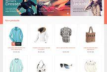 Web Design - Fashion/beauty