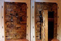 parede camuflada