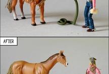 sjov med heste