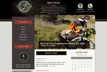 Jinji Cycles / Our solution for jinji cycles. It includes: strategy, development, CMS, wireframing, custom support, design, responsiveness