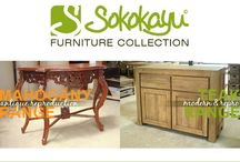 Sokokayu Furniture Collection / Great Indonesian handmade furniture offering at affordable direct manufacturing price from Sokokayu Furniture.