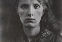 Julia Margaret Cameron / Cameron (1815-1879) was perhaps the most famous and influential portrait photographer of the 19th century. She was criticized by the males of her profession (and interesting, too, so were the abominable canvasses produced by the young Impressionists in France) for being smudgy or out of focus. The fact is that Cameron had very sharp eyes and she chose to bring her lens into focus and then adjust it to her tastes even after her son Harding taught her how.