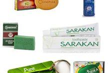 paczka dla Vegan / kosmetyki o składzie roślinnym: mydła, oleje, pasta do zebów -do nabycia na www.zielonysklep.com cena: od 7 zł