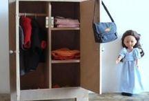 armoire poupée