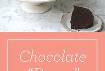 Chocolate Cakes / Recipes to try with our chocolate.