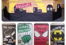 classroom display