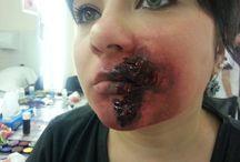 Halloween/ effetti speciali / make-up