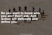 Quotes https://t.co/x8l9SDdX0z #quotes #word #fancyquotes @fancyquotes_com Do you want to know who you are? Don't ask. A