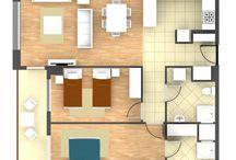 köy evi plani