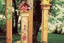 Birdhouse ideas / by Cathy Arlt