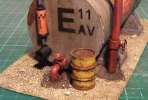 A - Scale Models, Dioramas, Miniatures / by Danny Smith