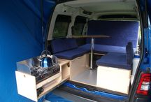 Vw caddy camper conversion