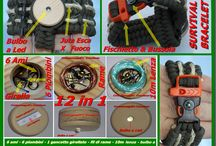 Paracord's Creations / Various items, bracelets, key chains, necklaces, lanyards, created by me with parachute cord