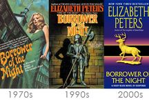 Elizabeth Peters Mystery Novels / Books and book cover art for mystery novelist Barbara Mertz (aka Elizabeth Peters).
