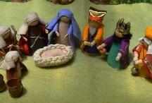 Adventi évszakasztal