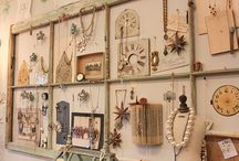 store and show display / display ideas that may someday find a place at Ornamentea, or at your next jewelry show...
