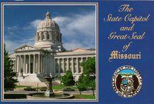 Postcards-Missouri / by L P DeLozier