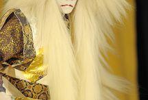 kabuki noh wood prints ukyo and tradition / stampe costumi tradizioni  e altro