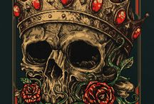 Skulls / Cualquier tema relacionado con las calaveras .Tatuajes, dibujos.