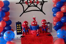 decoracao homem aranha