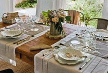 Dining Spaces and Table Settings / by The $120 Food Challenge