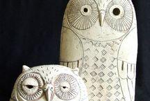 CREATION - Owls, Gufi, Eulen, Sovy