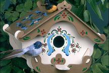 Karmniki i domki dla ptaków