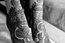 Henna art-beautiful hands and legs