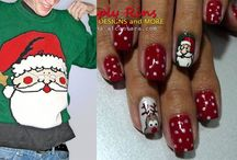 Christmas' nail