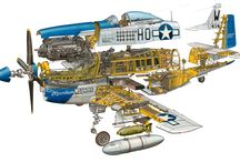 classic aviation prints