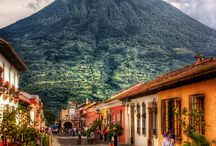 Guatemala / Guatemala is distinguished by its steep volcanoes, vast rainforests and ancient Mayan sites ~