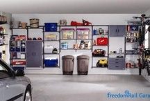 freedomRail Storage Systems | Organized Living / Organized Living freedomRail is an award-winning home organization system that can be customized for every area of your home. The heart of this organization system is its ability to adjust- and readjust – to suit you and your family's ever-changing needs. #organizedliving #homeorganization / by Organized Living