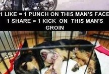 I HATE PEOPLE WHO ABUSE DOGS THEY ARE THE WORST!