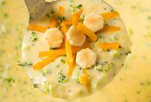 garlic parmesan spaghetti squash / Soups
