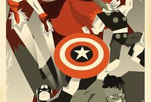 A Gallery of Marvel Comics