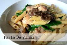 Recipes ~ Pasta Main Dishes / Recipes for pasta dishes that don't include meat.