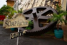 North Shore Soap Factory / Visit North Shore Soap Factory and see all aspects of natural  soap making from scratch. All Hawaiian Bath & Body skincare products are created and handcrafted here. Learn about the Historical Waialua sugar mill. Aloha & a hui hou!