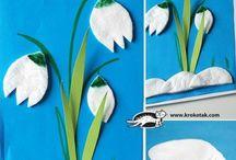 Wiosna / prace plastyczne