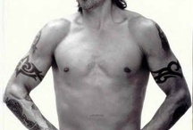 Anthony Kiedis / Sexy Man!!!!!Red Hot Chili Peppers / by Meredeth Rudino