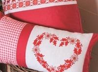 Karácsony, textil dekor
