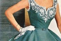 1950 elbiseler
